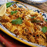 Easy chicken biryani. Ultimate comfort food. Yummy delish
