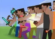Minecraft Stickman Showdown
