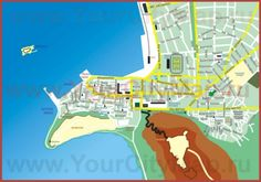 Туристическая карта города Нафплион