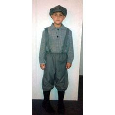 Child Newsboy Costume Boys Victorian Costume 1238
