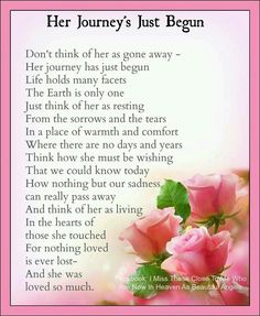 Celebration Of Life Poems 1