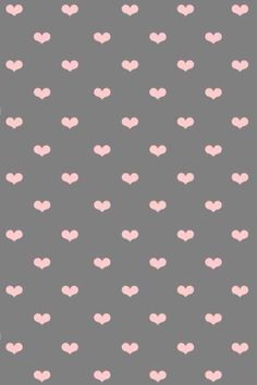 Hearts, love pink n gray.