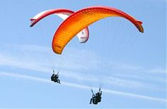 Tandem Glide - experience a deep feeling of freedom!