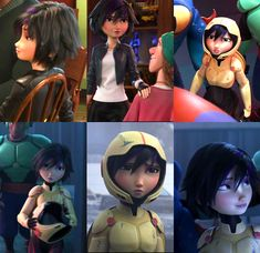 Disney Animated Films, Animated Cartoons, Animation Film, Disney Animation, Big Hero 6 Film, Big Heroes, Gogo Tomago, Hiro Big Hero 6, Western Comics