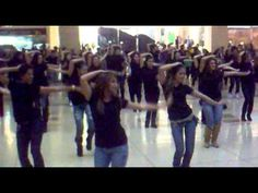 flash mob Santafe Bogota Colombia the time.mp4