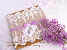 "Purple Lace Wedding Invitations, Lavender Wedding Invitation, Lilac and Lace, Elegant Wedding Invitations ""Lavender"""