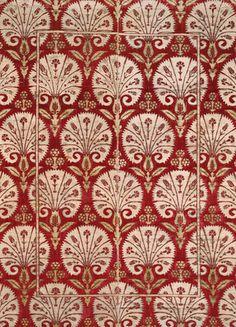 Ottoman Velvet with Carnations