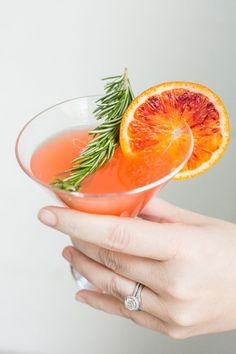 "Blood Orange Cocktail #cocktails www.LiquorList.com ""The Marketplace for Adults with Taste!"" @LiquorListcom  #LiquorList"
