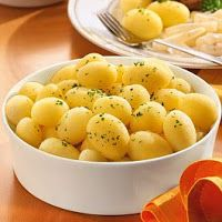 ·eCulinariae: Patatas a la parisien (o parisinas) Macaroni And Cheese, Vegetables, Ethnic Recipes, Html, Food, Potatoes, Cooking Recipes, Mac And Cheese, Side Dishes
