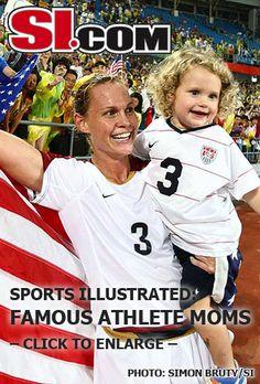 Christie Rampone...athlete...mom