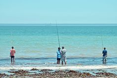 Fishing on the beach near Velddrif - John Duncan, Bacchus, Photo Galleries, Landscapes, Fishing, Ford, Ship, Wine, Lifestyle