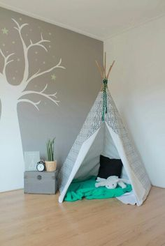 Handmade Tipi / Teepee Tent! Made by me, with love!