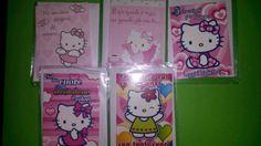 Stock 41 mini biglietti AMORE di Hello Kitty