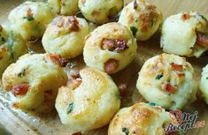 Finger Food Appetizers, Appetizer Recipes, Czech Recipes, Ethnic Recipes, Austrian Cuisine, Austrian Recipes, Good Food, Yummy Food, Appetisers