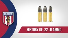 Easily the most prolific and well known firearm cartridge in the world, the .22 Long Rifle (LR) is great for plinking and small-game hunting. The .22 LR is also considered the best choice for introducing new people to the sport of shooting, due to its lack of recoil and low noise. #22LR #22LRammo #ammo #ammohistory