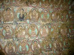 Turpan-bezeklik-pinturas-d01 - Bezeklik Thousand Buddha Caves - Wikipedia, the free encyclopedia