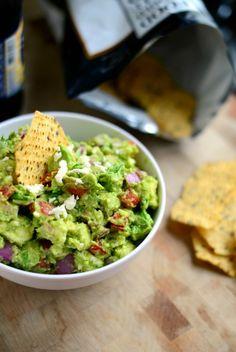 avocado + feta guacamole