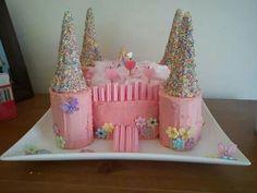 Fairy castle cake.