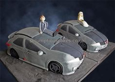 Honda Civic Cars Wedding Cake