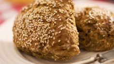 An innovative tweak on the traditional and hearty brown scone! You may need a second batch...