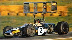 Jochen Rindt (Austria), Roy Winkelmann Racing Brabham - Cosworth FVA 1968 Albi GP (XXVII Grand Prix d'Albi So pleased it didn't work. Grand Prix, Motogp, Sport Cars, Race Cars, Motor Sport, Le Mans, Nascar, F1 Lotus, Jochen Rindt