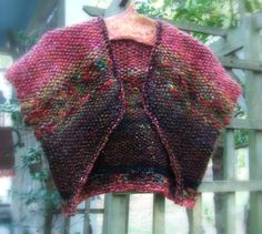 A Fall shrug  Pattern by Jane Thornley