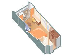 Our stateroom - Club Veranda Stateroom