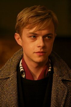 """Dane DeHaan. The resemblance to a young Leo DiCaprio is freaky. And I love it! Thank you universe, for realizing you needed to make another one of these. And for not leaving out the talent as well. This picture is from """"Kill Your Darlings."""""""