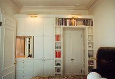Guest bedroom built in - eclectic - bedroom - san francisco - Jerry Jacobs Design, Inc.