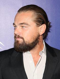 Leonardo DiCaprio I actually really miss his beard it was cute