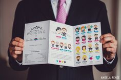 such funny wedding programs!