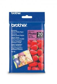 Hartie Foto Brother BP61GLP 20coli glossy 6''x4''