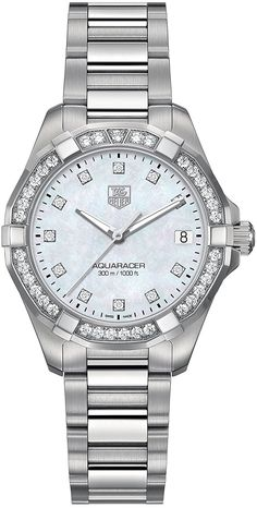 Tag Heuer Aquaracer 300M Women's Diamond Watch - WAY1314.BA0915 *** Don't get left behind, see this great  product