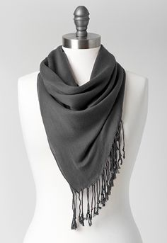 Catherine Solid Pashmina - All StylesChristopher & Banks