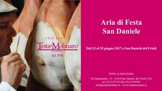 #Testa&Molinaro #ProsciuttoDiSanDaniele waits for you for the #celebration of its land's #taste and #culture.  #AriaDiFesta #Fantinel #prosciutto #SanDaniele #party #summer2017 #food #foodlovers #madeinitaly #friuli #fvg #excellence