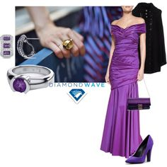 """Regal purple"" by maria-kuroshchepova on Polyvore"