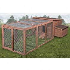 Ware Manufacturing Premium+ Chick-N-House Pen & Nest Box Kit - Tractor Supply Online Store Pet Chickens, Chickens Backyard, Rabbits, Dog Habitat, Bunny Cages, Rabbit Cages, Farm Lifestyle, Dog Pen, Cat Enclosure