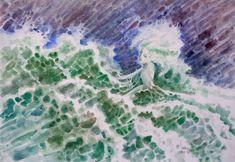 Galura Laut Kidul (Pemanasan 3)Ini upaya menanggapi tawaran exhibition project dari para sahabat senior cc: Pa Basuki Bawono, Bank Zoel, Santang RK, dkk. Demi menemukan passion terbaik dan sebelum memilih kanvas sebagai media, lukisan ini masih pake cat air. @artcollectorx #art #painting #watercolor #waves #sea #pantaiselatan #laut #lautkidul #aaa_magazine #theartlovers #artscloud #dailyarts #arts_help #art_theatre #artmagazine Cat Air, Waves, Watercolor, Outdoor, Instagram, Watercolour, Outdoors, Watercolor Painting, Outdoor Games