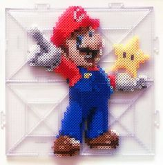 15 Best Fun Perler Beads Designs Easy To Get Started Melty Bead Patterns, Hama Beads Patterns, Beading Patterns, Geek Perler, Perler Bead Mario, Perler Beads, Fuse Beads, Bead Crafts, Diy And Crafts