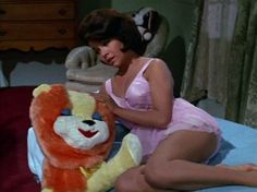 0 Annette Funicello in pink babydoll