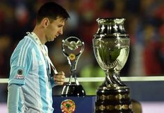 Copa America agony a turning point for Argentina - Messi