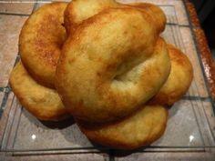 Zeppole di patate con le acciughe-