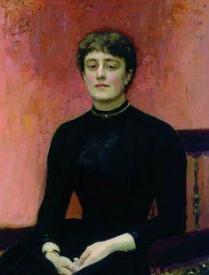 Portrait of Jelizaveta Zvantseva, 1889 - Ilia Répine Ilya Repin, Russian Painting, Russian Art, Russian Style, Google Art Project, Portrait Art, Art Google, Art World, Great Artists