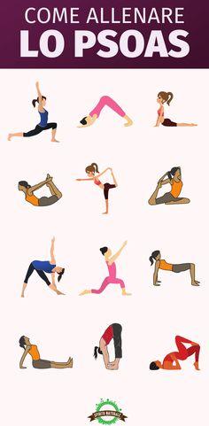 #esercizi #psoas #stretching #spiritonaturale Psoas Stretch, Pelvic Floor, Yin Yoga, Asana, Workout Videos, Gymnastics, Storytelling, Health Fitness, Poses