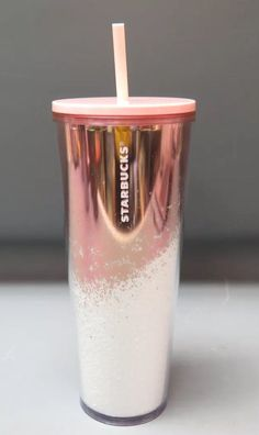 Starbucks 2019 pink and white sparkle 24 ounce plastic double walled tumbler. New with tags and care instructions Check out my other listings and ask for bundling to reduce shipping costs Copo Starbucks, Starbucks Tumbler Cup, Starbucks Cup Art, Starbucks Bottles, Custom Starbucks Cup, Starbucks Drinks, Starbucks Coffee, Drinking Water Bottle, Cute Water Bottles