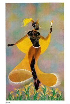 Oxum. Série Deuses do Panteão Africano - Orixás. Nelson Boeira Faëdrich. Brasil, 1968.