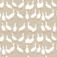Ducks In A Row fabric by sarah_treu on Spoonflower - custom fabric