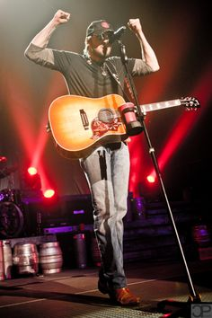 Eric Church - Awesome in concert!  Saw him at JQH Arena, Springfield, MO in May 2012