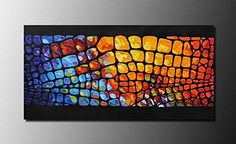 Muzagroo Art Abstract Oil Painting Colorful LIfe Hand Painted on Canvas Large Size Pictures Wall Decor Unframed and Unstretched Jesus Painting, Wall Decor Pictures, Nature Paintings, Oil Painting Abstract, Picture Wall, Furniture Decor, Canvas Art, Hand Painted, Colorful