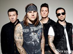 Exclusive Avenged Sevenfold Cover Gallery | Avenged Sevenfold